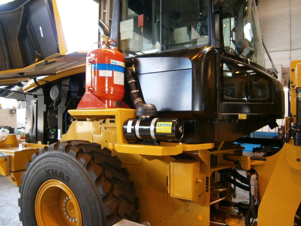CP060 Cabin Pressuriser for dozers, loaders, graders, drills for Caterpillar, Komatsu, Liebherr, Sandvik, and many other heavy vehicles