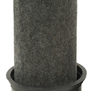 RadialSHIELD: Odor+ HEPA/H13 Ejective Filter for RESPA-CF/CF2 - Extended Length